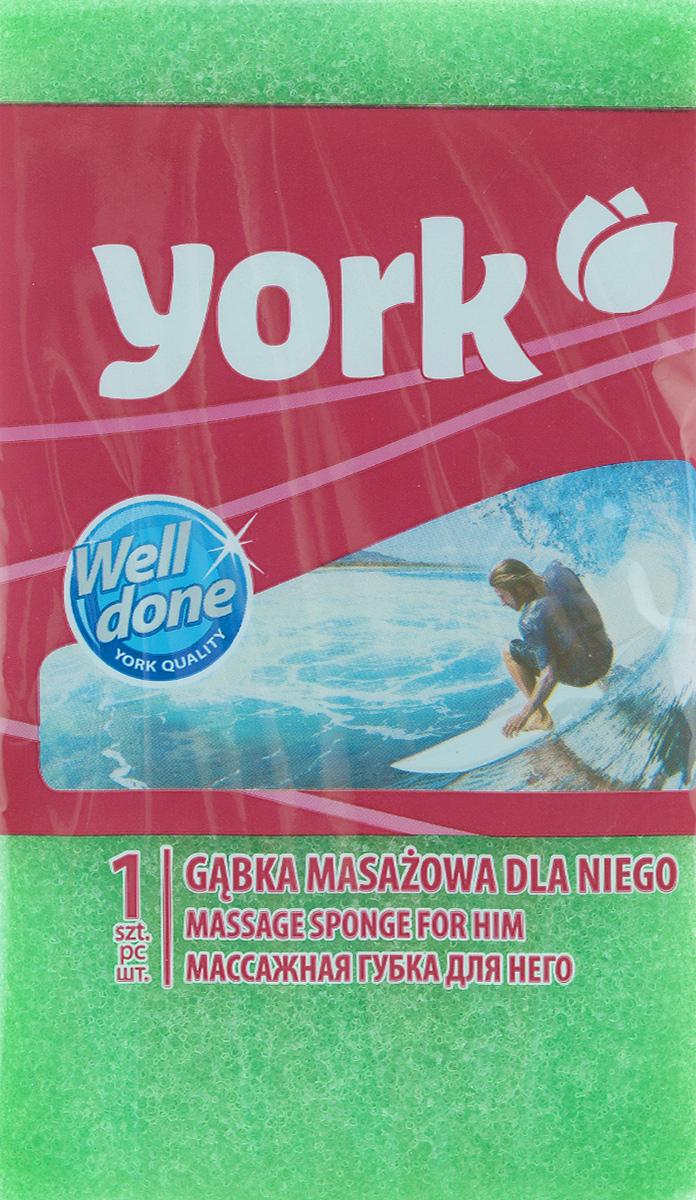 Губка для тела York Рэмбо. Для него, цвет: зеленый, 18 х 10,5 х 6 см1007_зеленыйГубка для тела York Рэмбо. Для него изготовлена из мягкого полимера. Классическая прямоугольная форма отлично подходит для мытья и массажа тела. Пористая структура губки создает воздушную пену даже при небольшом количестве геля для душа. Эффективно очищает и массирует кожу, улучшая кровообращение и повышая тонус.