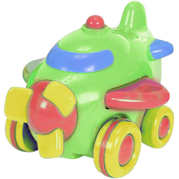 Simba Самолет инерционный цвет зеленый4015832_зеленыйЯркая инерционная игрушка Simba Самолет привлечет внимание вашего малыша и не позволит ему скучать! Выполненная из безопасного пластика, игрушка представляет собой забавный самолетик яркой раскраски. Округлые без острых углов формы гарантируют безопасность даже самым маленьким. Для запуска установите игрушку на поверхность, немного подтолкните вперед или назад и отпустите, игрушка продолжит движение. Во время движения самолет машет крыльями, его винт вращается. Инерционная игрушка Самолет поможет ребенку в развитии воображения, мелкой моторики рук, концентрации внимания и цветового восприятия.