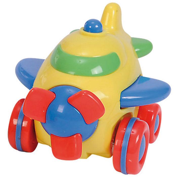 Simba Самолет инерционный цвет желтый4015832_самолет_желтыйЯркая инерционная игрушка Simba Самолет привлечет внимание вашего малыша и не позволит ему скучать! Выполненная из безопасного пластика, игрушка представляет собой забавный самолетик яркой раскраски. Округлые без острых углов формы гарантируют безопасность даже самым маленьким. Для запуска установите игрушку на поверхность, немного подтолкните вперед или назад и отпустите, игрушка продолжит движение. Во время движения самолет машет крыльями, его винт вращается. Инерционная игрушка Самолет поможет ребенку в развитии воображения, мелкой моторики рук, концентрации внимания и цветового восприятия.