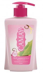 Camay Жидкое крем-мыло Mild 225 мл32025918Жидкое мыло Camay Алоэ - легкий аромат ромашки и алоэ расслабляет и наполняет нежностью.