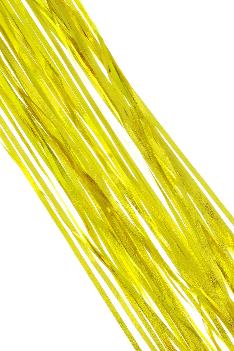 Дождик новогодний Sima-land, цвет: золотистый, 16 см х 180 см. 702550702550_золотистыйДождик новогодний Sima-land, изготовленный из фольги, поможет вам украсить свой дом к предстоящим праздникам. Новогодняя елка с таким украшением станет еще наряднее. Новогодним дождиком можно украсить все, что угодно - елку, квартиру, дачу, офис - как внутри, так и снаружи. Можно сложить новогодние поздравления, буквы и цифры, дождиком можно украсить и дополнить гирлянды, можно выделить дверные колонны, оплести дверные проемы.