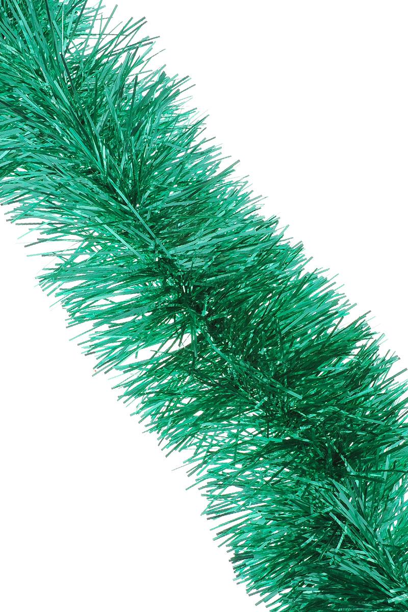Мишура новогодняя Sima-land, цвет: зеленый, диаметр 9 см, длина 165 см. 623233623233_зеленыйМишура новогодняя Sima-land, выполненная из фольги, поможет вам украсить свой дом к предстоящим праздникам. Мишура армирована, то есть имеет проволоку внутри и способна сохранять приданную ей форму. Новогодняя елка с таким украшением станет еще наряднее. Новогодней мишурой можно украсить все, что угодно - елку, квартиру, дачу, офис - как внутри, так и снаружи. Можно сложить новогодние поздравления, буквы и цифры, мишурой можно украсить и дополнить гирлянды, можно выделить дверные колонны, оплести дверные проемы.