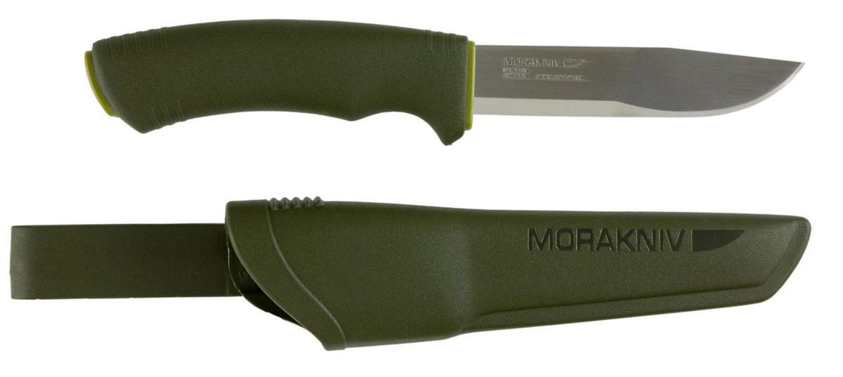 "Morakniv Нож Morakniv ""Bushcraft"", цвет: болотный, длина лезвия 10,5 см"