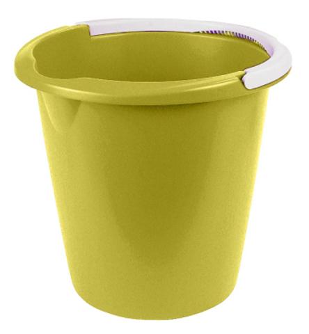 Ведро Curver, цвет: зеленый, 10 л1301_зеленыйВедро Curver выполнено из прочного пластика. Изделие снабжено небольшим носиком и удобной рельефной ручкой. На внутреннюю поверхность нанесены отметки литража. Такое ведро пригодится в любом хозяйстве, оно отлично подойдет для мытья полов или хранения мусора.