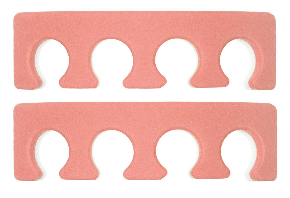 Ikonna Разделитель для пальцев ног, 2 шт, цвет: оранжевый
