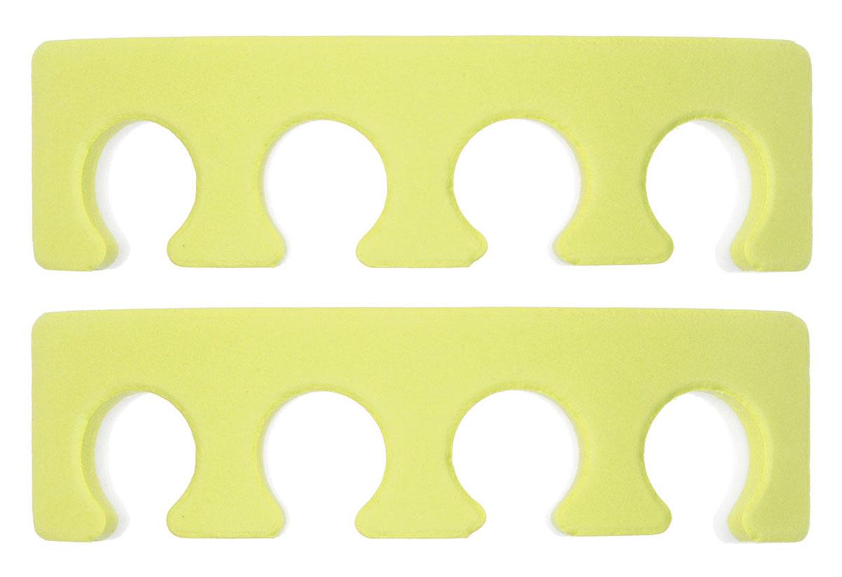 OPI Разделитель для пальцев ног, 2 шт, цвет: желтый