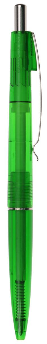 Schneider Ручка шариковая Icy Colours цвет чернил синийS1320-01/0_зеленыйАвтоматическая шариковая ручка Schneider Icy Colours станет незаменимыми атрибутом учебы или работы. Корпус ручки выполнен из полупрозрачного пластика зеленого цвета. Высококачественные синие чернила позволяют добиться идеальной плавности письма. Ручка оснащена универсальным заменяемым стержнем. Ручка имеет практичный металлический клип для удобной фиксации на бумаге или одежде. Надежная ручка строгого классического дизайна станет верным помощником для студента и офисного работника.