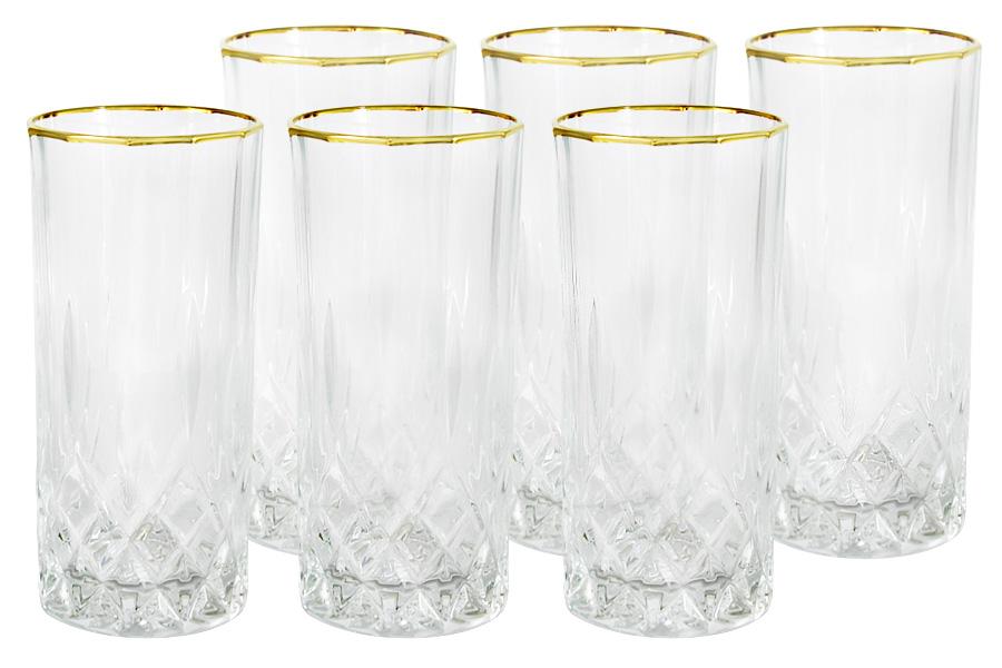 Набор: 6 стаканов для воды Уэльс. SM741/3792/9748ALSM741/3792/9748ALХрустальные изделия из Италии от компании Same Decorazione — это маленькие шедевры, о которых знает уже немалая часть Европы. Авторский дизайн, исключительная по технике ручная роспись (в зависимости от сложности используются до 10-ти различных по жесткости и материалу кистей), высокое качество исполнения создают особый неповторимый стиль каждой коллекции. Выполненные из высокосортного хрусталя (24% PbO ), все изделия выделяются своим изяществом и блеском. А элегантная форма подчеркивается нежными изысканными рисунками, декорированными 24-каратным золотом и платиной. Хрустальные изделия Same Decorazione отличаются чистым, неискаженным преломлением света, прозрачностью и красотой граненых поверхностей. Золотая и платиновая отделка безопасна для использования