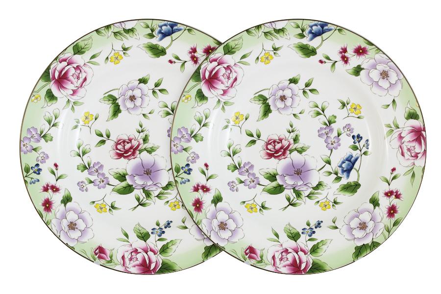 Набор суповых тарелок Colombo HD Лаура, диаметр 23 см, 2 штC2-SP/2-K50430ALНабор Colombo HD Лаура, выполненный из высококачественного костяного фарфора, состоит из 2 суповых тарелок и предназначен для красивой сервировки блюд. Изделия украшены ярким изображением цветов и имеют изысканный внешний вид. Набор сочетает в себе стильный дизайн с максимальной функциональностью. Оригинальность оформления изделий придется по вкусу и ценителям классики, и тем, кто предпочитает утонченность и изящность. Рекомендуется мыть в теплой воде с применением мягких моющих средств. Диаметр (по верхнему краю): 23 см.