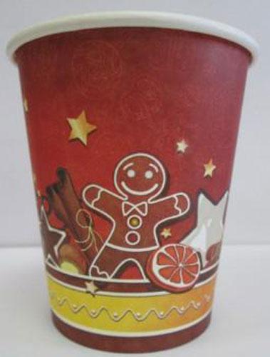Набор одноразовых стакнанов Huhtamaki Зима, бумажные, 250 мл, 50 штПОС25792Одноразовые стаканы Huhtamaki Зима изготовлены из плотной бумаги и оформлены оригинальным новогодним рисунком. Изделия предназначены для подачи горячих и холодных напитков. Вы можете взять стаканы с собой на природу, в парк, на пикник и наслаждаться вкусными напитками. Несмотря на то, что стаканы бумажные, они очень прочные и не промокают. Диаметр (по верхнему краю): 7,5 см. Высота: 8,8 см.