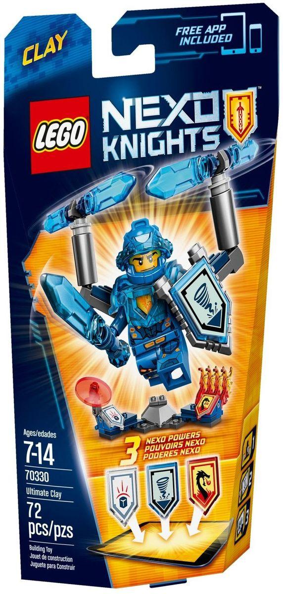 LEGO NEXO KNIGHTS Конструктор Клэй Абсолютная сила 7033070330Вращайте лезвия на Ультра Щите Клэя, сбивающие с ног врагов! Присоедините 4 крыла Лавового дракона и взлетите в небо, а если что-то пойдет не так, защититесь от вражеского оружия с помощью диска силового поля. Улучшите свои навыки ведения боя, воспользовавшись щитами для сканирования, дающими 3 Nexo Силы, которые пополнят вашу цифровую коллекцию уникальных способностей и позволят перехитрить шута Джестро и злобных лава-монстров LEGO NEXO KNIGHTS. Набор включает в себя 72 разноцветных пластиковых элемента. Конструктор - это один из самых увлекательных и веселых способов времяпрепровождения. Ребенок сможет часами играть с конструктором, придумывая различные ситуации и истории.