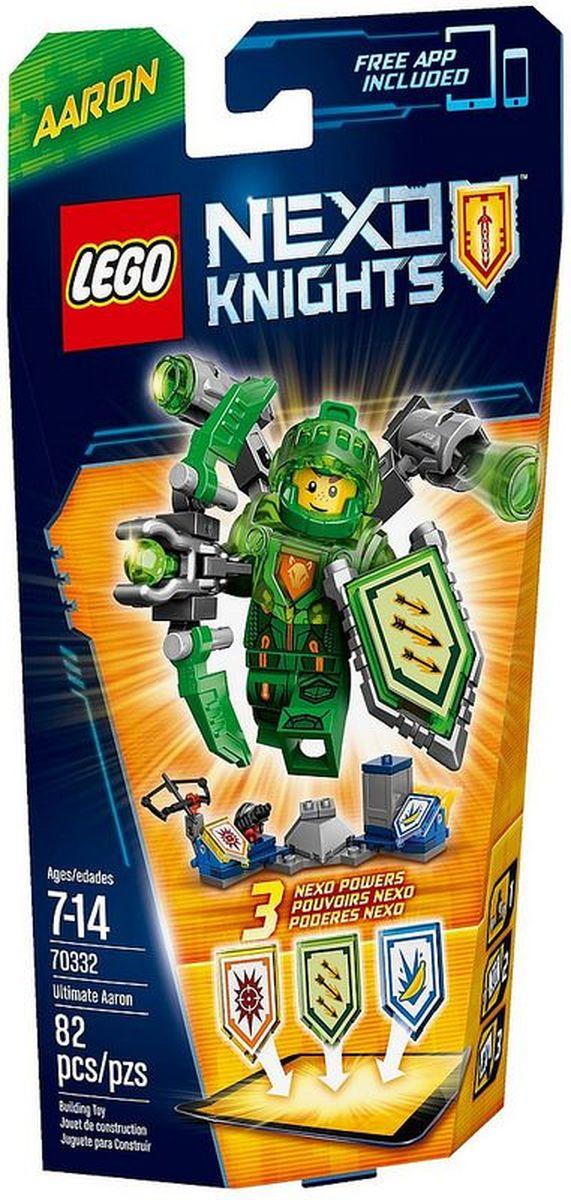 LEGO NEXO KNIGHTS Конструктор Аарон Абсолютная сила 7033270332Сразите врагов Аарона Абсолютной силы одним ударом, благодаря мощи Умного Бластера Nexo. Вкус победы будет сладким и банановым, потому что у вас в запасе имеются банановые бомбы! Улучшите свои боевые навыки, отсканировав щиты для получения 3 Nexo Сил, которые пополнят вашу цифровую коллекцию уникальных способностей и позволят перехитрить шута Джестро и злобных лава- монстров LEGO NEXO KNIGHTS. Набор включает в себя 82 разноцветных пластиковых элемента. Конструктор станет замечательным сюрпризом вашему ребенку, который будет способствовать развитию мелкой моторики рук, внимательности, усидчивости и мышления. Играя с конструктором, ребенок научится собирать детали по образцу, проводить время с пользой и удовольствием.