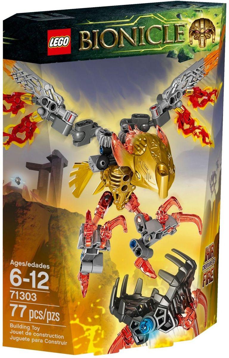 LEGO BIONICLE Конструктор Икир Тотемное животное Огня 71303