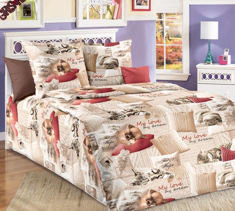 ТексДизайн Комплект детского постельного белья Милый друг 1,5-спальный
