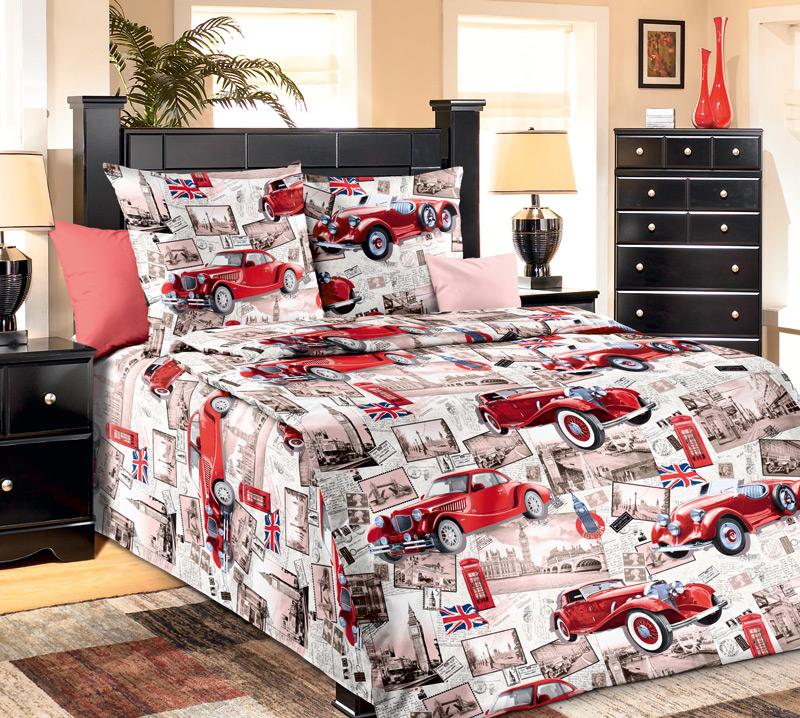 Комплект белья Белиссимо Ретро, 1,5-спальный, наволочки 70х701100АВеликолепное постельное белье Белиссимо Ретро выполнено из высококачественной бязи (100% хлопок) и украшено ретро- снимками, старинными авто и другими винтажными вещами. Комплект состоит из пододеяльника, простыни и двух наволочек. Бязь - хлопчатобумажная плотная ткань полотняного переплетения. Отличается прочностью и стойкостью к многочисленным стиркам. Бязь считается одной из наиболее подходящих тканей, для производства постельного белья и пользуется в России большим спросом.