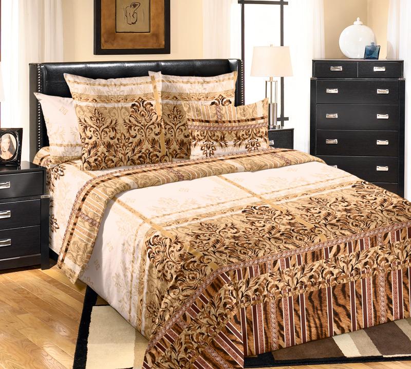 Комплект белья Белиссимо Бакарди 1, 2-спальный, наволочки 70х702100БВеликолепное постельное белье Белиссимо Бакарди 1 выполнено из высококачественной бязи (100% хлопок) и украшено изящным орнаментом. Комплект состоит из пододеяльника, простыни и двух наволочек. Бязь - хлопчатобумажная плотная ткань полотняного переплетения. Отличается прочностью и стойкостью к многочисленным стиркам. Бязь считается одной из наиболее подходящих тканей, для производства постельного белья и пользуется в России большим спросом.
