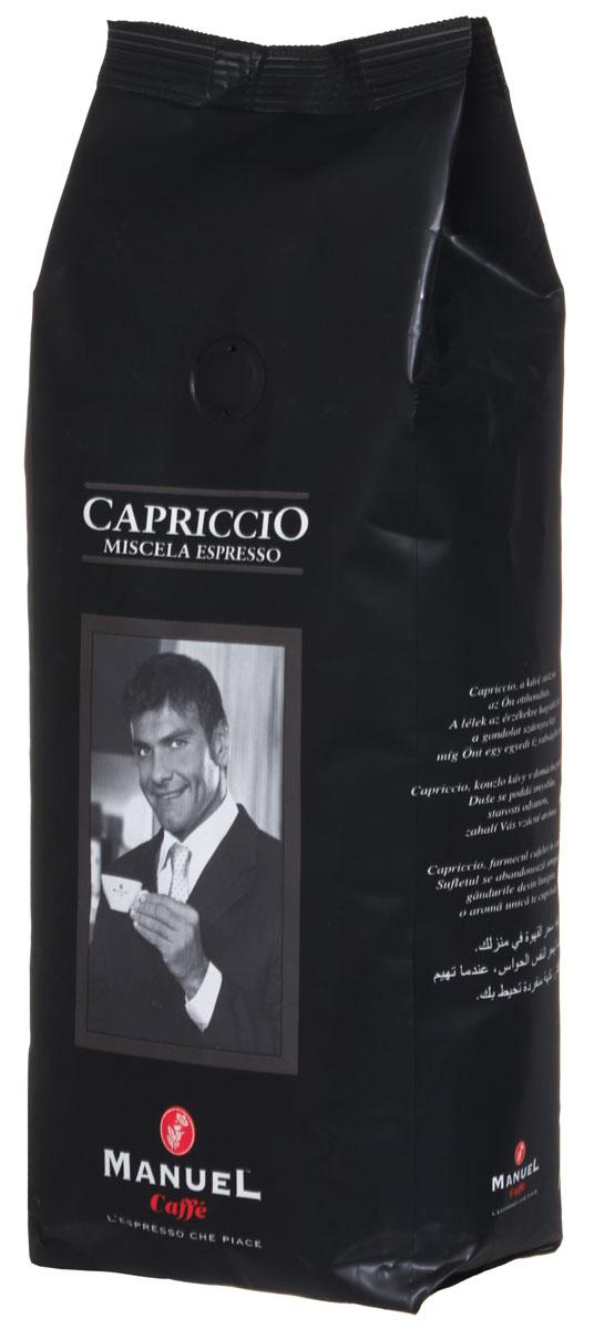 Manuel Capriccio кофе в зернах, 500 г8006536000189Manuel Capriccio - лучшая смесь для приготовления на профессиональном оборудовании. Кофе темной обжарки. Сбалансированный вкус с устойчивым послевкусием.