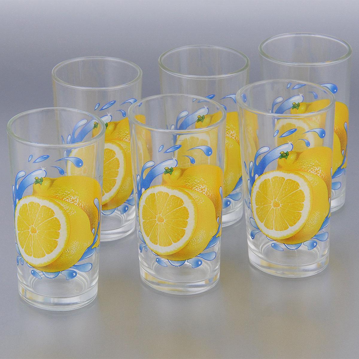 Набор стаканов OSZ Classico Ода. Лимон, 230 мл, 6 шт05С1256 ДЗ У ЛКНабор OSZ Classico Ода. Лимон состоит из шести стаканов, выполненных из прочного натрий-кальций-силикатного стекла. Изделия прекрасно подходят для различных напитков. Набор OSZ Classico Ода. Лимон идеален для ежедневного использования. Функциональность, практичность и стильный дизайн сделают набор прекрасным дополнением к вашей коллекции посуды. Диаметр стакана (по верхнему краю): 6,5 см. Высота стакана: 12,5 см. Диаметр дна стакана: 5 см.