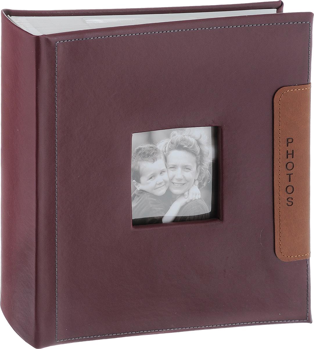 Фотоальбом Image Art, 200 фотографий, цвет: бордовый, 10 x 15 см BBM46200/2/046BBM46200/2/046_бордовыйФотоальбом Image Art поможет красиво оформить ваши самые интересные фотографии. Обложка выполнена из толстого картона. С лицевой стороны обложки имеется окошко для вашей самой любимой фотографии. Внутри содержится блок из 50 белых листов с фиксаторами-окошками из полипропилена. Альбом рассчитан на 200 фотографий формата 10 см х 15 см (по 2 фотографии на странице). Для фотографий предусмотрено поле для записей. Переплет - книжный. Нам всегда так приятно вспоминать о самых счастливых моментах жизни, запечатленных на фотографиях. Поэтому фотоальбом является универсальным подарком к любому празднику. Количество листов: 50.