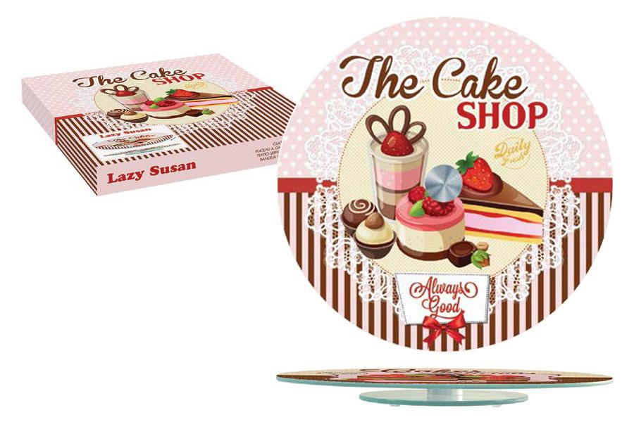 Блюдо для торта Nuova R2S Подарки, диаметр 32 смR2S441/CASH-ALБлюдо для торта Nuova R2S Подарки выполнено из стекла. Посуда обладает гладкой поверхностью и не впитывает запахи, ее легко и просто мыть. Изящный дизайн и красочность оформления придутся по вкусу и ценителям классики, и тем, кто предпочитает современный стиль. Не рекомендуется мыть в посудомоечной машине и использовать в микроволновой печи. Диаметр блюда: 32 см.