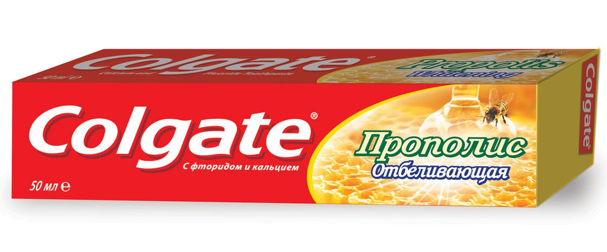 Colgate Зубная паста Прополис отбеливающая 50 гр