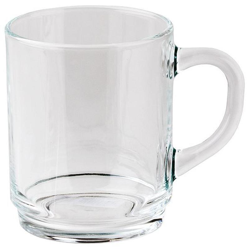 Кружка Luminarc, 250 мл61875Кружка Luminarc изготовлена из прочного стекла. Такая кружка прекрасно подойдет для горячих и холодных напитков. Она дополнит коллекцию вашей кухонной посуды и будет служить долгие годы.