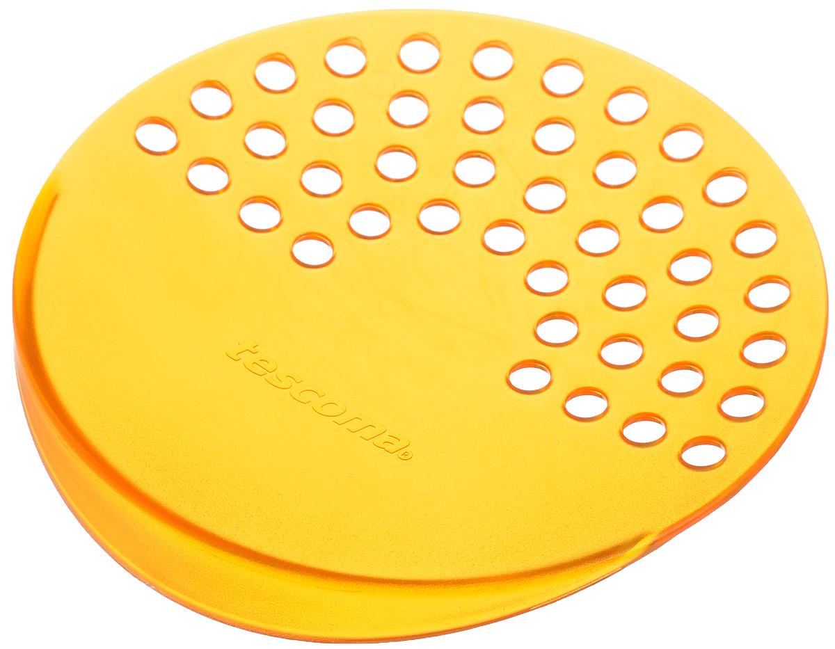 Дуршлаг для консервных банок Tescoma Presto, цвет: оранжевый, диаметр 10,5 см420615_оранжевыйДуршлаг Tescoma Presto изготовлен из высококачественного пластика. Он прекрасно подходит для легкого процеживания пищи из консервных банок, либо посуды небольшого диаметра. Можно мыть в посудомоечной машине. Диаметр: 10,5 см.
