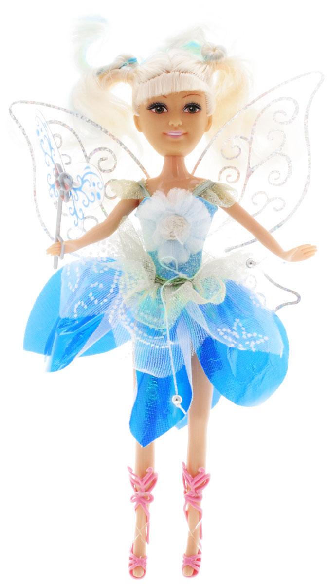 Brilliance Fair Кукла Волшебная мелодия в голубом платье240347_голубойВеликолепная кукла Brilliance Fair Волшебная мелодия обязательно порадует вашу малышку и доставит ей много удовольствия от часов, посвященных игре с ней. Куколка одета в шикарное голубое платье, украшенное блестками и декоративными цветами, а за спиной у нее - большие полупрозрачные крылья. Ножки, голова и ручки куколки подвижны. Вашей дочурке непременно понравится расчесывать и заплетать длинные светлые волосы куклы. При нажатии на кнопку на животике куклы раздастся волшебная мелодия. Вместе с куклой в наборе предлагается волшебная палочка. Brilliance Fair - милые подружки! Эти девочки могут развлекаться и никогда не устают друг от друга! Их невероятно привлекательные наряды делают их абсолютными королевами любой вечеринки! Кукла станет настоящей подружкой для своей юной обладательницы! Порадуйте свою малышку таким великолепным подарком! Для работы игрушки рекомендуется докупить 3 батарейки типа LR44 (товар комплектуется демонстрационными).
