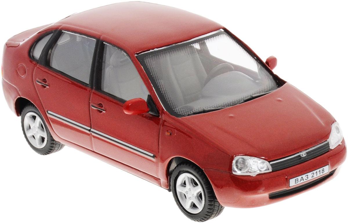 Cararama Модель автомобиля ВАЗ 2118 Lada KalinaLC 230ND_красныйКоллекционная модель Cararama ВАЗ 2118 Lada Kalina - миниатюрная копия настоящего автомобиля. Стильная модель автомобиля привлечет к себе внимание не только детей, но и взрослых. Модель имеет литой металлический корпус с высокой детализацией интерьера салона, дисков. Игрушка в точности повторяет модель оригинальной техники, подробная детализация в полной мере позволит вам оценить высокую точность копии этой машины! Такая модель станет отличным подарком не только любителю автомобилей, но и человеку, ценящему оригинальность и изысканность, а качество исполнения представит такой подарок в самом лучшем свете.