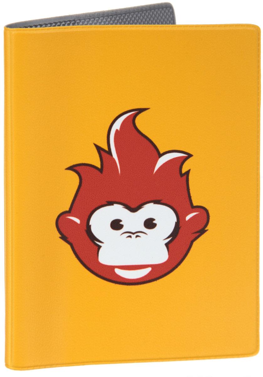 Обложка для паспорта Огненная обезьяна. OZAM385OZAM385Яркая обложка для паспорта Mitya Veselkov Огненная обезьяна выполнена из поливинилхлорида и оформлена принтом с изображением обезьянки. Изделие раскладывается пополам. Внутри расположены два накладных кармана. Обложка для паспорта поможет сохранить внешний вид ваших документов и защитить их от повреждений, а также станет стильным аксессуаром, который подчеркнет ваш образ.