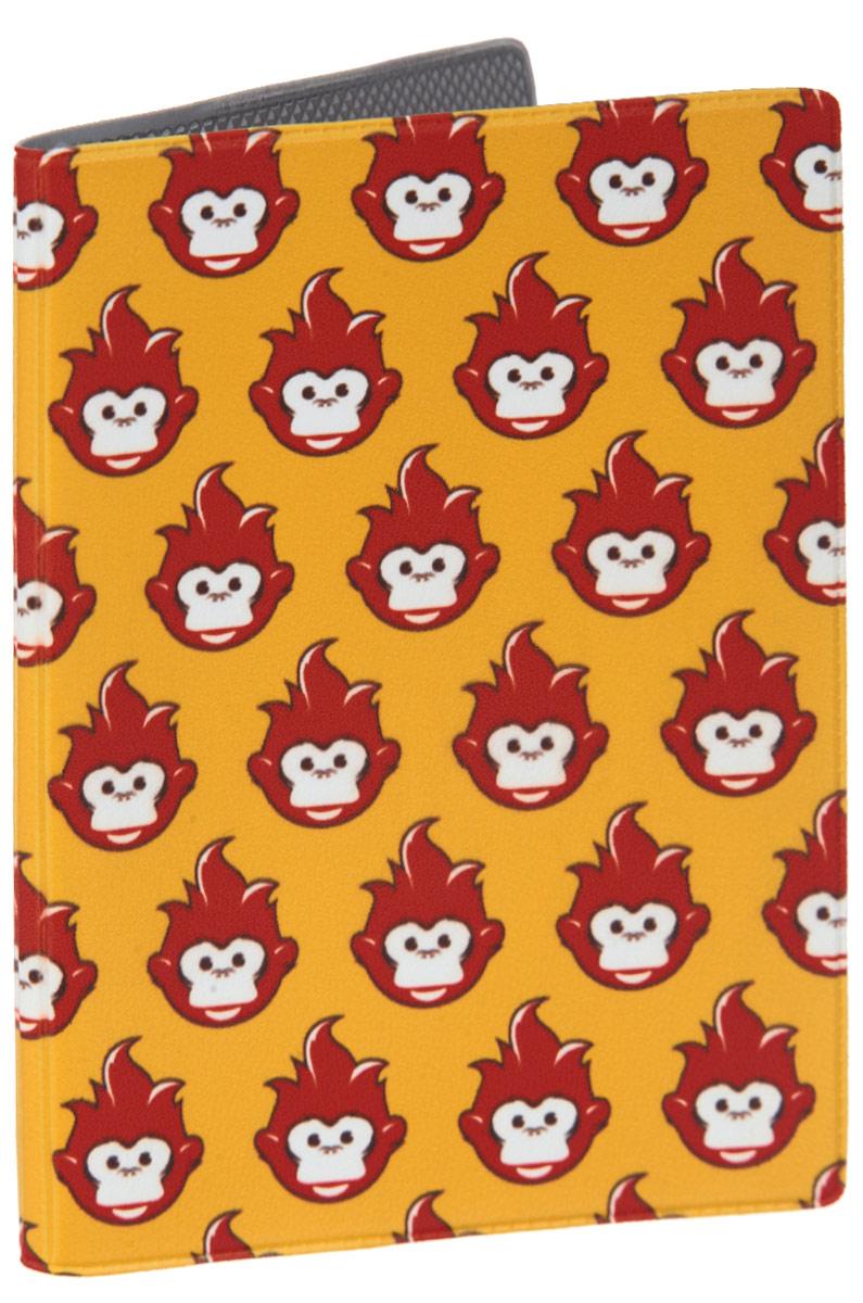 Обложка для паспорта Много огненных обезьян. OZAM384OZAM384Яркая обложка для паспорта Mitya Veselkov Много огненных обезьян выполнена из поливинилхлорида и оформлена принтом с изображением обезьянок. Изделие раскладывается пополам. Внутри расположены два накладных кармана. Обложка для паспорта поможет сохранить внешний вид ваших документов и защитить их от повреждений, а также станет стильным аксессуаром, который подчеркнет ваш образ.