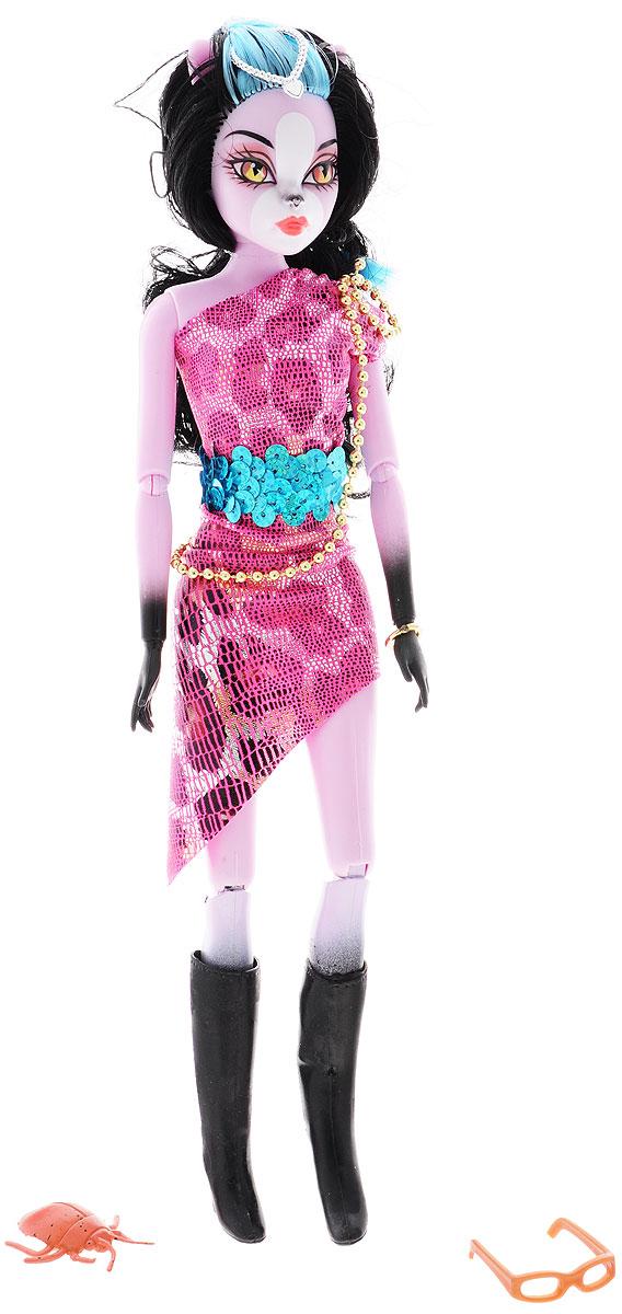Junfa Toys Кукла Magic Girl цвет платья розовый