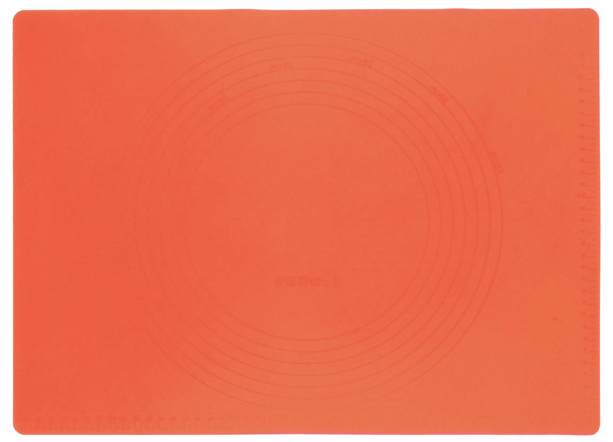 Коврик силиконовый Mayer & Boch, цвет: оранжевый, 42 х 28 см21993Силиконовый коврик Mayer & Boch предназначен для приготовления выпечки. Он быстро нагревается, равномерно пропекает, не допускает подгорания выпечки с краев или снизу. Нет необходимости смазывать коврик маслом. Вынимать продукты из изделия очень легко. Коврик не ржавеет и на нем не образуются пятна. Нет необходимости изменять температуру приготовления. Можно использовать в микроволновой печи, духовом шкафу, морозильной камере и в холодильнике. Можно мыть в посудомоечной машине.