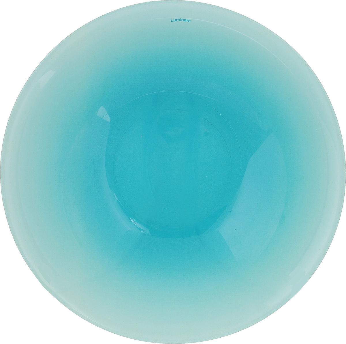 Салатник Luminarc Fizz Frozen, диаметр 16,5 смH8786Салатник Luminarc Fizz Frozen выполнен из ударопрочного стекла. Яркий дизайн придется по вкусу и ценителям классики, и тем, кто предпочитает утонченность и изысканность. Салатник Luminarc Fizz Frozen идеально подойдет для сервировки стола и станет отличным подарком к любому празднику. Диаметр (по верхнему краю): 16,5 см.