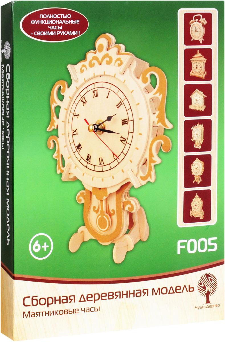 VGA Wooden Toys Сборная деревянная модель Маятниковые часы