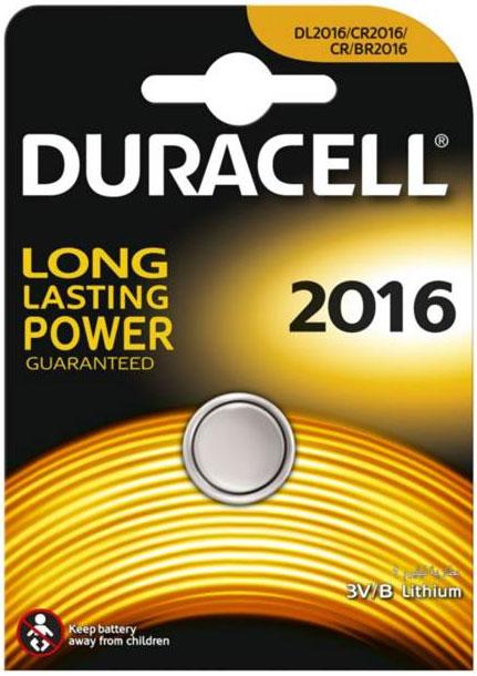 Батарейка литиевая Duracell. DL2016DRC-81469139Такой тип батареек предназначен для использования в различных электронных устройствах, например калькуляторах. Характеристики: Тип элемента питания: DL2016. Тип электролита: литиевый. Выходное напряжение: 3 В. Изготовитель: Индонезия.