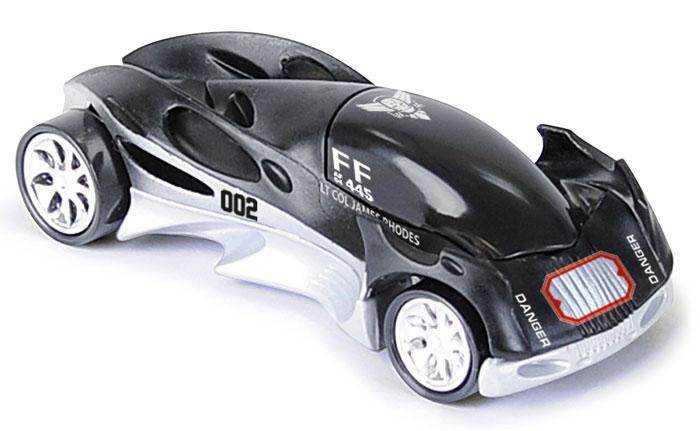 Majorette Машинка Iron Man 3 цвет черный3089787_черныйМашинка Majorette Iron Man 3 обязательно понравится вашему маленькому гонщику и надолго увлечет его. Яркая и красочная машинка выполнена из прочного безопасного пластика и представляет собой копию автомобиля Железного Человека. Машинка имеет обтекаемую форму и будет великолепно скользить по любой гладкой поверхности. Игры с такой машинкой развивают концентрацию внимания, координацию движений, мелкую и крупную моторику, цветовое восприятие и воображение. Малыш будет часами играть с этой машинкой, придумывая разные истории и разыгрывая сценки из любимых мультфильмов.