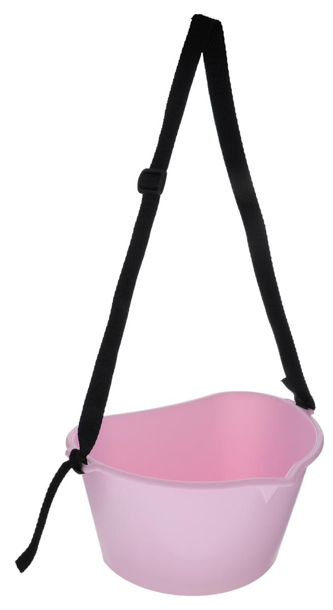 Емкость для сбора ягод Альтернатива, цвет: светло-розовый, 3 лМ1110_ светло-розовыйЕмкость Альтернатива предназначена для сбора ягод. Изделие выполнено из высококачественного пластика. Емкость оснащена носиком для более удобного высыпания содержимого. Для удобной переноски предусмотрена текстильная ручка.
