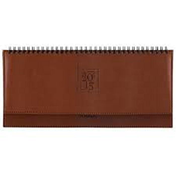 Index Планинг Deli недатированный 64 листа цвет коричневый