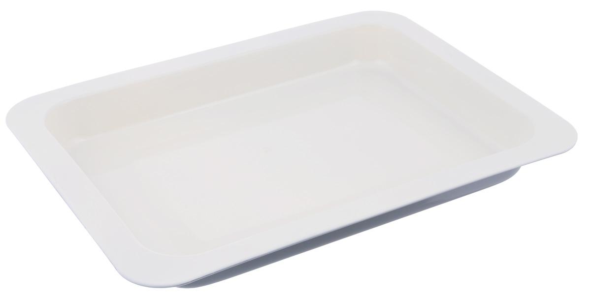 Противень Mayer & Boch, с керамическим покрытием, прямоугольный, цвет: серый, 42 х 31,5 х 5,5 см22251_серыйПротивень Mayer & Boch выполнен из высококачественной углеродистой стали и снабжен антипригарным керамическим покрытием, что обеспечивает ему прочность и долговечность. Противень равномерно и быстро прогревается, что способствует лучшему пропеканию пищи. Его легко чистить. Готовая выпечка без труда извлекается. Противень подходит для использования в духовке с максимальной температурой 250°С. Перед каждым использованием противень необходимо смазать небольшим количеством масла. Простой в уходе и долговечный в использовании противень Mayer & Boch станет верным помощником в создании ваших кулинарных шедевров. Не рекомендуется мыть в посудомоечной машине. Размер противня: 42 х 31,5 х 5,5 см. Толщина стенки: 0,5 мм.