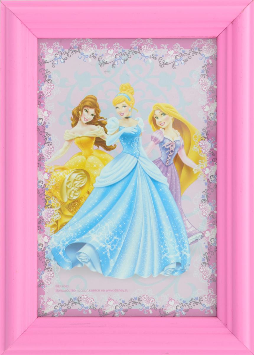 Фоторамка Vertigo Disney, цвет: розовый, 10 см х 15 см12582 WF-1073/582_розовыйФоторамка Vertigo Disney выполнена из дерева и стекла, защищающего фотографию. Оборотная сторона рамки оснащена специальной ножкой, благодаря которой ее можно поставить на стол или любое другое место в доме или офисе. Также изделие оснащено специальными отверстиями для подвешивания на стену. Такая фоторамка поможет вам оригинально и стильно дополнить интерьер помещения, а также позволит сохранить память о дорогих вам людях и интересных событиях вашей жизни.