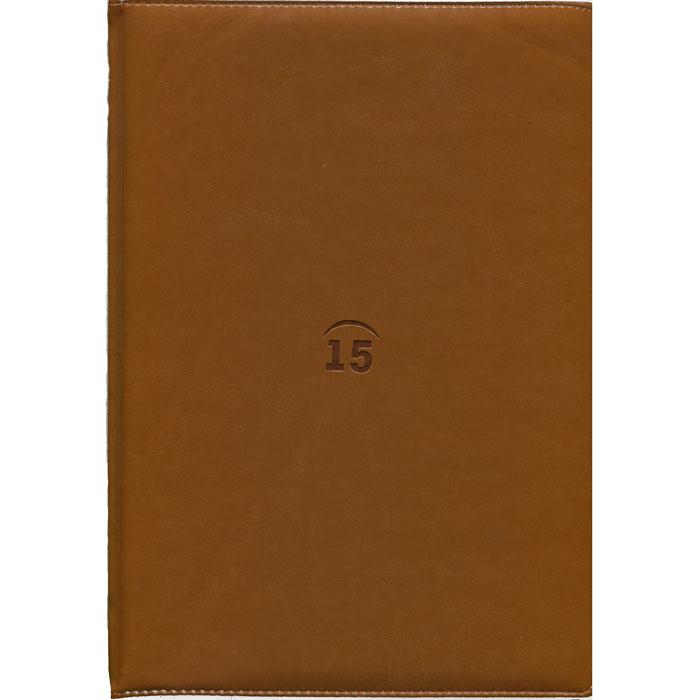 Index Ежедневник Nature недатированный 64 листа цвет коричневый IDN002/A4/BR