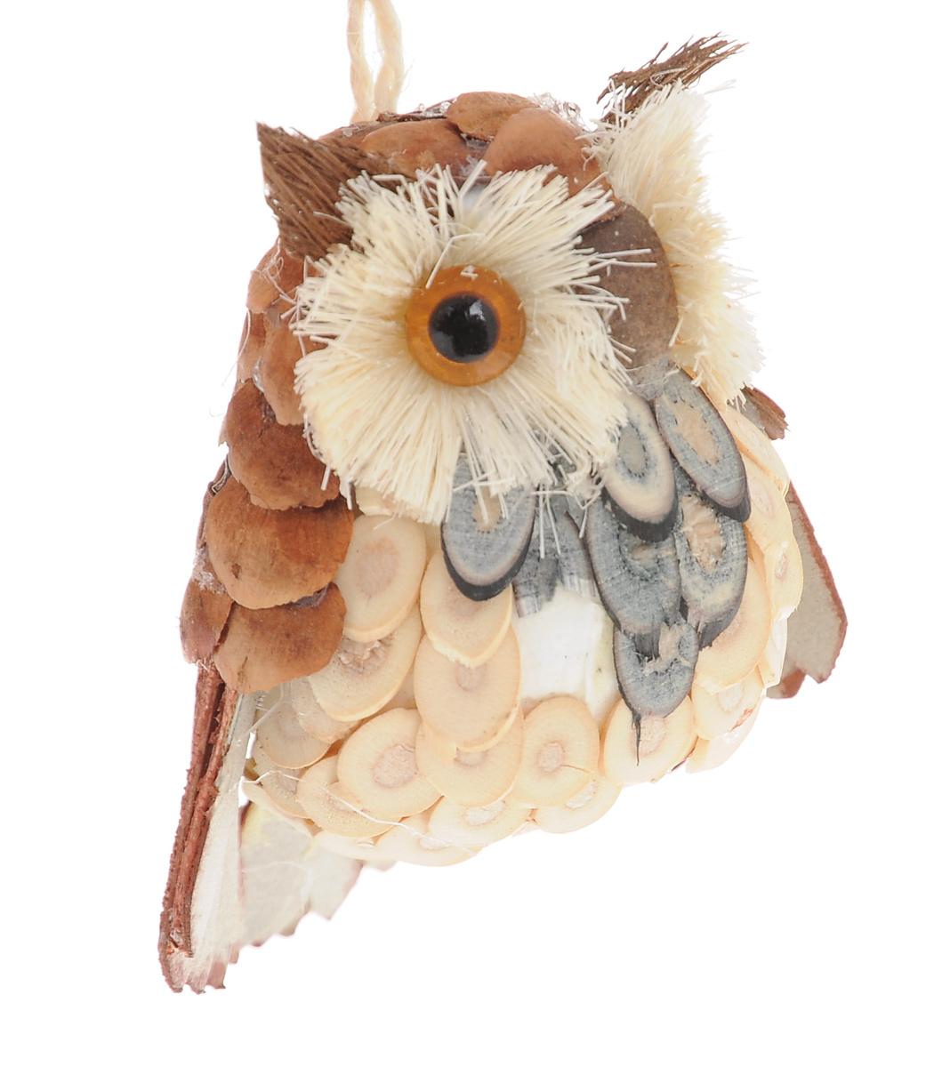 Новогоднее подвесное украшение Winter Wings Сова. N181389N181389Подвесное украшение Winter Wings Сова, изготовленное из соломы и натуральных материалов, станет отличным новогодним украшением. Подвешивается на елку с помощью текстильной петельки. Ваша зеленая красавица с таким украшением будет выглядеть стильно и волшебно. Создайте в своем доме по- настоящему сказочную атмосферу.