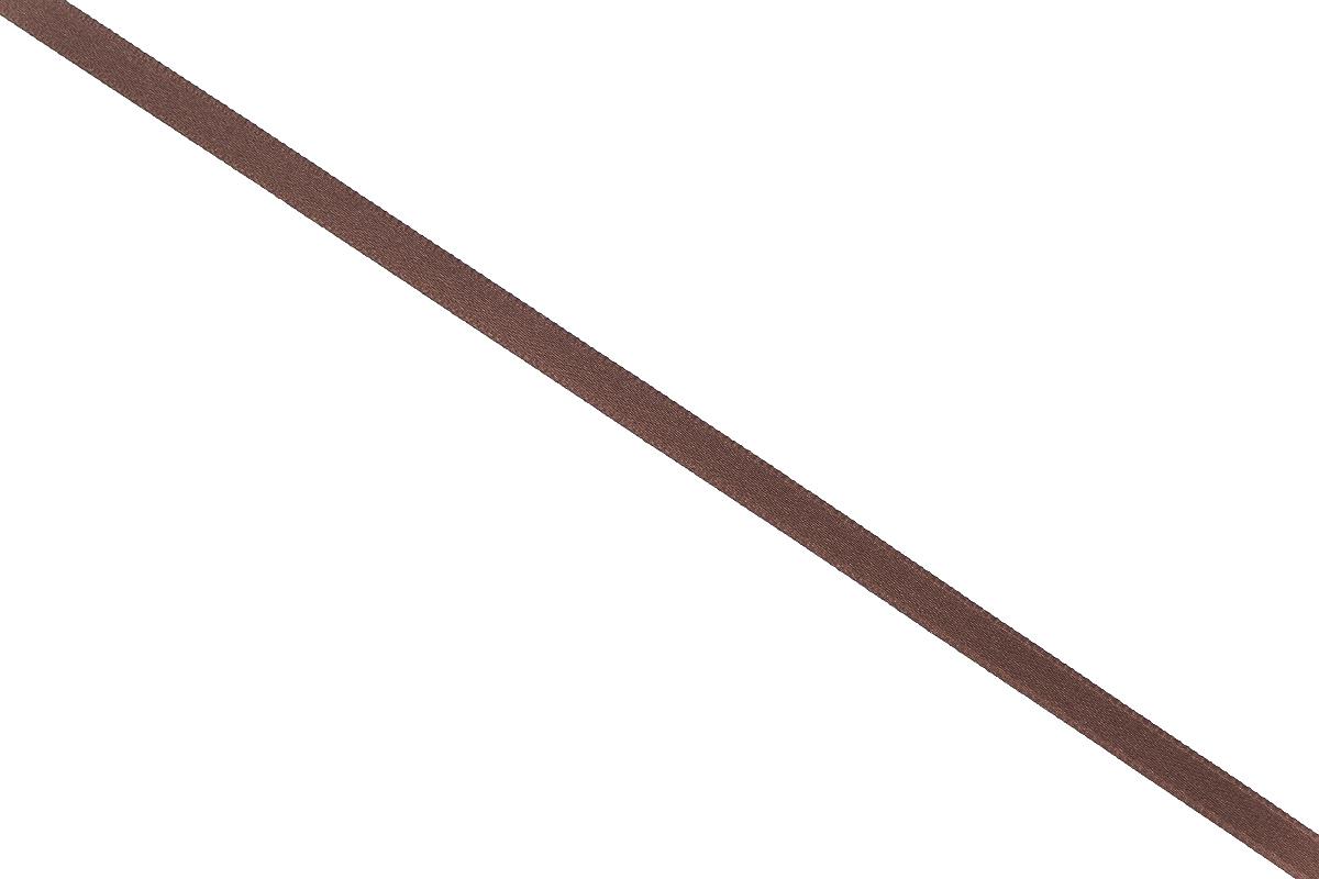 Лента атласная Prym, цвет: коричневый, ширина 6 мм, длина 25 м697070_23Атласная лента Prym изготовлена из 100% полиэстера. Область применения атласной ленты весьма широка. Изделие предназначено для оформления цветочных букетов, подарочных коробок, пакетов. Кроме того, она с успехом применяется для художественного оформления витрин, праздничного оформления помещений, изготовления искусственных цветов. Ее также можно использовать для творчества в различных техниках, таких как скрапбукинг, оформление аппликаций, для украшения фотоальбомов, подарков, конвертов, фоторамок, открыток и многого другого. Ширина ленты: 6 мм. Длина ленты: 25 м.