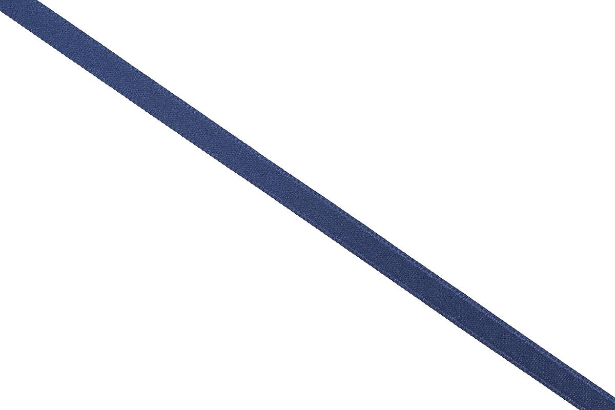 Лента атласная Prym, цвет: темно-синий, ширина 6 мм, длина 25 м697070_57Атласная лента Prym изготовлена из 100% полиэстера. Область применения атласной ленты весьма широка. Изделие предназначено для оформления цветочных букетов, подарочных коробок, пакетов. Кроме того, она с успехом применяется для художественного оформления витрин, праздничного оформления помещений, изготовления искусственных цветов. Ее также можно использовать для творчества в различных техниках, таких как скрапбукинг, оформление аппликаций, для украшения фотоальбомов, подарков, конвертов, фоторамок, открыток и многого другого. Ширина ленты: 6 мм. Длина ленты: 25 м.