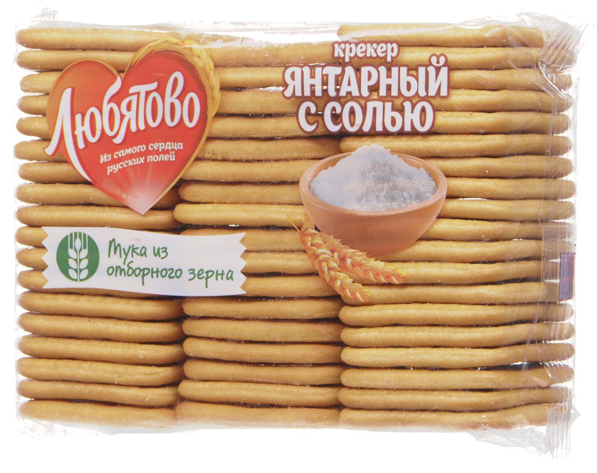 "Любятово Крекер ""Янтарный с солью"", 500 г 1004"