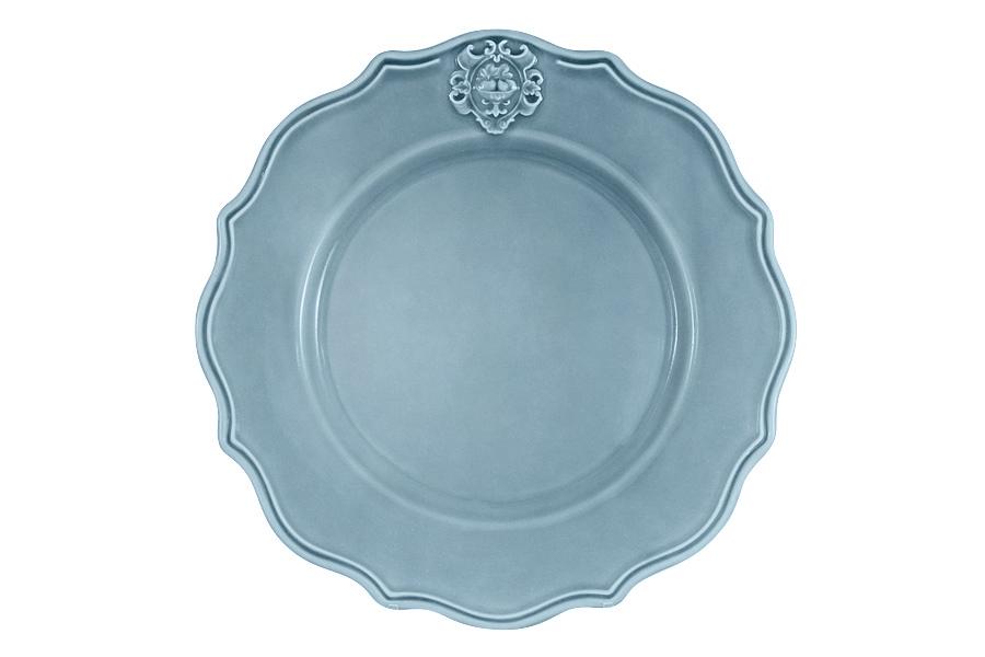 Тарелка обеденная Аральдо (голубой). NC8310/2-CRZ-ALNC8310/2-CRZ-ALДекорам торговой марки Nuova Сer присущи теплые оттенки и верность истинно итальянскому стилю, для которого характерным является довольно толстая, нарочито простая керамическая посуда с красочной, яркой глазурью, с наивной росписью и орнаментами. Ее с легкостью можно подобрать в тон интерьеру кухни. Такую посуду можно использовать в микроволновой печи и мыть в посудомоечной машине.