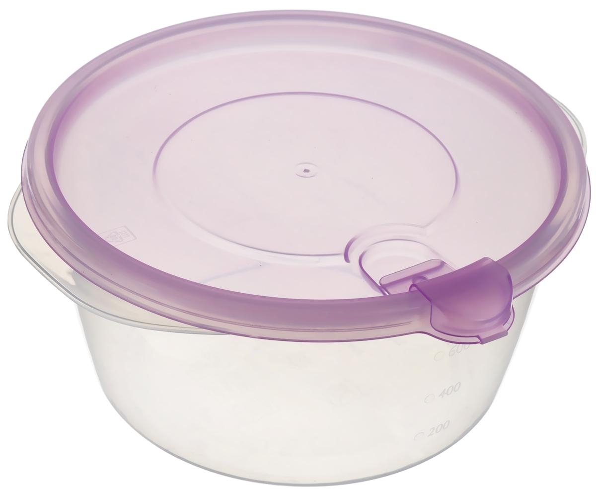 Контейнер Phibo Фрэш, с клапаном, цвет: прозрачный, сиреневый, 750 млС11516_прозрачный, сиреневый1Контейнер Phibo Фрэш изготовлен из высококачественного полипропилена и не содержит Бисфенол А. Крышка легко и плотно закрывается, а также снабжена клапаном. Контейнер устойчив к воздействию масел и жиров, легко моется. Подходит для использования в микроволновой печи. Можно мыть в посудомоечной машине. Диаметр (по верхнему краю): 15 см. Высота: 7,5 см.