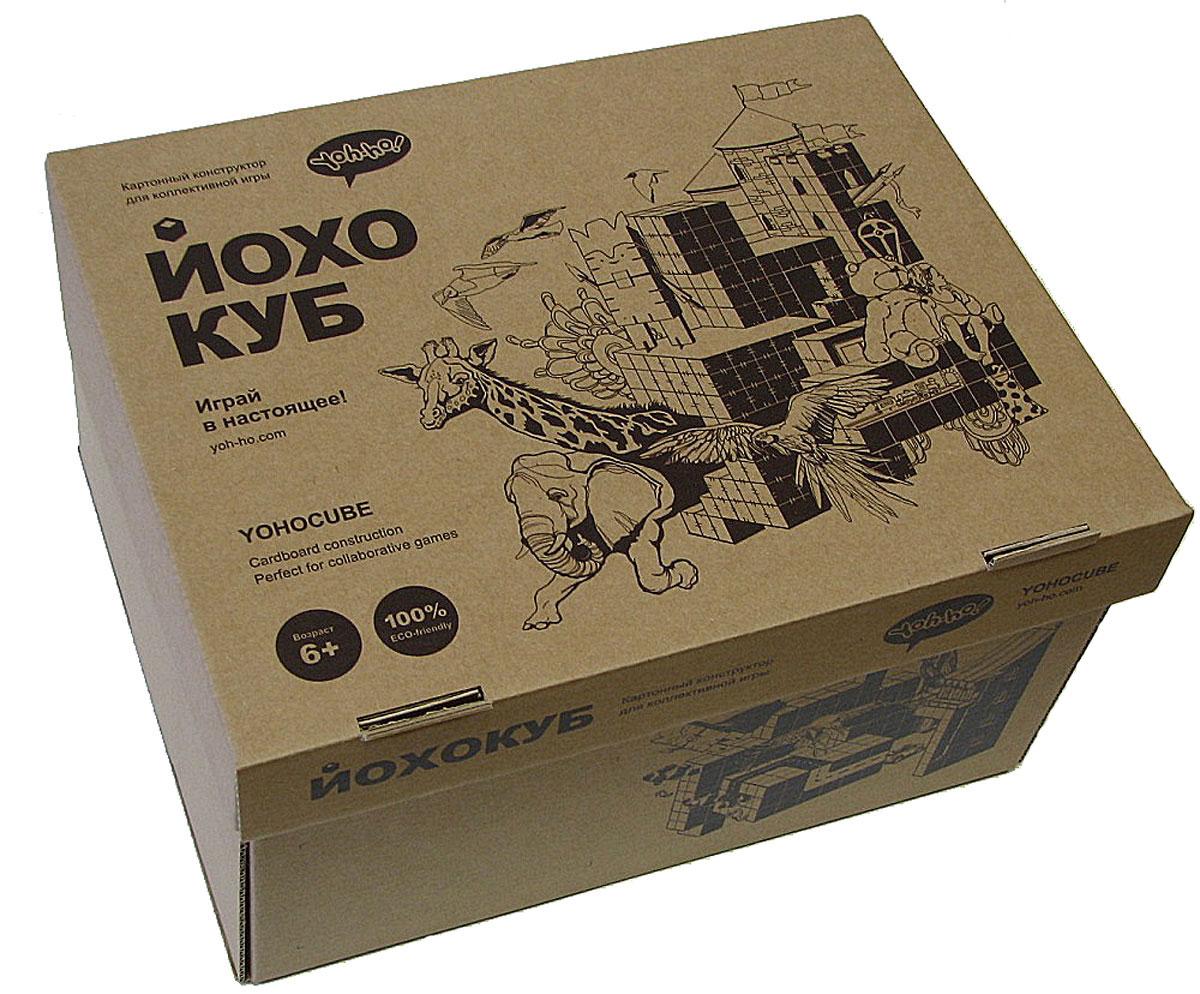 Yoh-ho! Kids 3D Пазл Куб БазовыйK-1053D пазл ЙОХОКУБ - это сборные кубики в наборе с крепежами и тематическими декоративными элементами для конструирования любых форм без использования клея. Что можно сделать из кубиков? Сказочные миры с небоскребами, деревьями, животными, техникой, роботами. И самую настоящую мебель. Придумывайте новые арт-объекты! Декорируйте пространство! Наслаждайтесь творчеством в кругу близких и друзей! Кубики пригодны к многократному использованию для создания новых форм без использования клея. На ЙОХО-кубиках можно рисовать - верхний слой замечательно впитывает краску. А еще ЙОХО-кубики - это прекрасные тайнички для самых сокровенных секретов! 3D пазл ЙОХОКУБ через игру развивает абстрактное мышление, конструкторские навыки, творческие способности и мелкую моторику. Приучает к коллективному творчеству в разновозрастной группе. Размер одного ЙОХОКУБа в собранном виде 8 см. Кубик легко помещается в детскую ладошку.