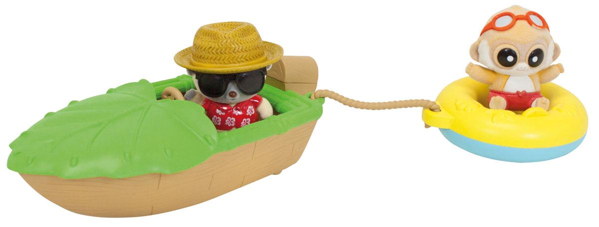 Simba Игровой набор Быстроходный катер5950635Игровой набор Simba Быстроходный катер позволит отлично провести время на пляже с Юху и его друзьями. На этот раз Юху решил покататься по морю на необычном катере. Элементы набора изготовлены из безопасных для ребенка материалов. Забавные фигурки выполнены из приятного на ощупь мягкого флока. Набор включает в себя две мини-фигурки, катер и спасательный круг. Ваш ребенок часами будет играть с таким набором, придумывая различные истории.